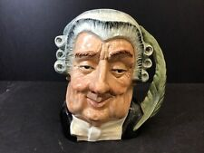 Royal Doulton The Lawyer D 6498 Large Character Toby Jug - Mint