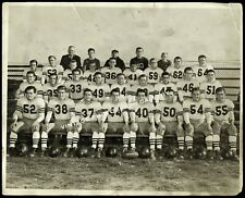 Vintage Sports Photo School Football Team
