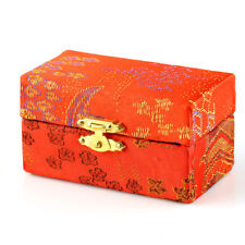 Exercise Stress Ball Fabric Box For Vintage Chinese Baoding Iron Ball Red