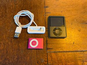 Apple iPod Shuffle 2nd Generation 1GB & Nano 3rd Generation 8GB A-1236