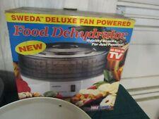 Sweda Food Dehydrator 4 Round Stacking Trays w box