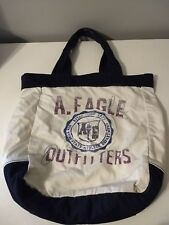 "American Eagle Outfitters Tote Bag White 18"" x 16"""