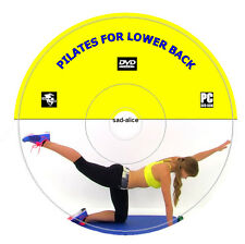 Pilates For Lower Back Pain DVD Video Workout Exercises