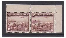 S.W.A. - SG 96 U/M - 1937 - 1 1/2 D mail Treno ANGOLO COPPIA marginale