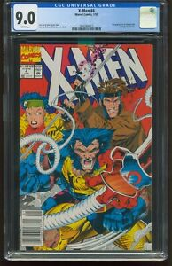 X-MEN #4  CGC 9.0 VF-NM WHITE PAGES NEWSSTAND 1ST APPEARANCE OF OMEGA RED G-732