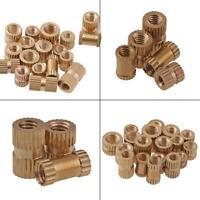 M2 / M2.5 Brass Knurled Nuts Thread Insert Embedded Nuts