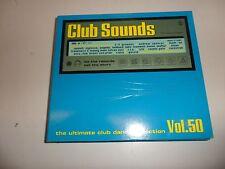 Cd  Club Sounds Vol.50 von Various Artists (2009) - Box-Set