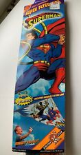 Vintage Superman Figure Kite Spectra Star Over 4Ft. Tall New Unopened