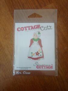 Scrapping Cottage - Cottage Cutz - Mrs Claus - Die Cutter Set