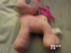Funrise Toy Hasbro Pink My Little Pony Pinkie Pie Stuffed Plush Animal 2015