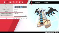 ✨SHINY✨ 6IV Giratina - Pokemon Sword & Shield - The Crown Tundra LEGENDARY