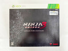 Xbox 360 Ninja Gaiden 3 Collector's Edition Game soft Complete Japanese Figure