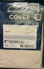 "Reversible Ironing Board Cover w/ 1/2"" Pad 54"" x 15"" Khaki Bed Bath & Beyond Nip"