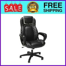 New listing Racing Style SofThread Leather High Back Office Chair in White Ess-6060-Wht