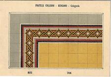 Stampa antica PAVIMENTO A MOSAICO Piastrelle Mattonelle C 704 1910 Antique print