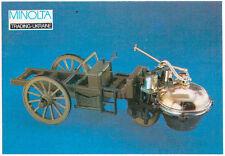 Ukrainian Pocket Calendar 1992 Carro di Cugnot 1769 BRUMM 1/43 Very Rare