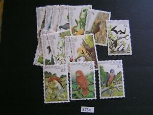 Christmas Is 1982 Birds Set (16) Mint Stamps Cat $28