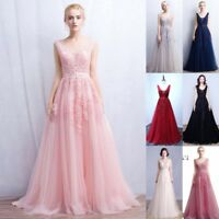 Evening Long Prom Dress Formal Party Ball Gown Bridesmaid Dress Pageant Gown
