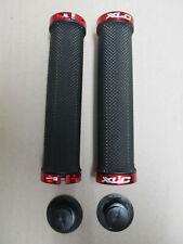 Koga Miyata Lock On 1-Bolt Schraubgriffe Griffe schwarz-rot NEU