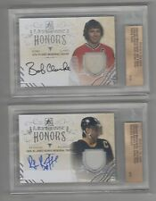 2014/15 Leaf ITG Ultimate Honors Auto Jersey Silver Bourque /10 REDUCED!