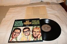 Roger Miller/Roy Orbison/Jerry Lee Lewis LP with Original Record Company Sleeve-