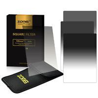 ZOMEI 100*150 Gradual Neutral Density Filter GND2+4+8+16 for Cokin Z UK Seller
