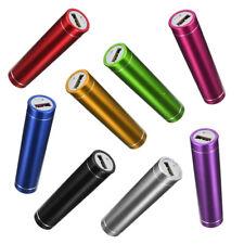 MICRO USB CARICA BATTERIA PORTATILE POWERBANK 2600 MAH CAVO MULTICOLORE by