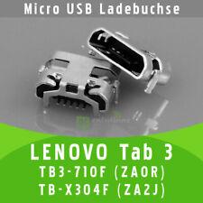 ✅ Lenovo Tab 3 TB3-710F ZA0R TB-X304F ZA2J Micro USB DC Buchse Ladebuchse Socket