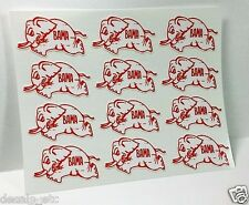 12 Small University of Alabama, Bama Vintage Style College DECAL / Vinyl STICKER