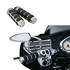 Left & Right Hand Grips Handlebar For Harley Softail Custom FXSTC Street Glide