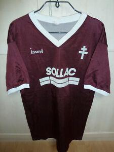 Maillot porté getragenes Trikot vintage FC Metz 87-88 87/88 1987-88 1987/88 rare