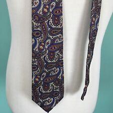 Guy Laroche Silk Paisley Tie