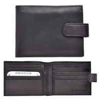 Arnicus Mens Genuine Soft Nappa Leather Card Wallet - Multiple Compartments