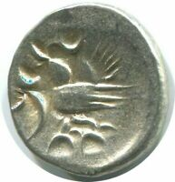CAMBODIA Tical 2 Pe / ½ Fuang - Norodom I ND(1847) Silver 1,5g/15mm #AB114.12CW