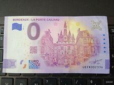 BILLET EURO SOUVENIR 2021-3 BORDEAUX LA PORTE CAILHAU ANNIVERSAIRE