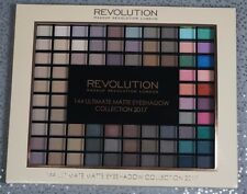 Makeup Revolution 144 Ultimate Matte Eye shadow Collection 2017 eyeshadow palett