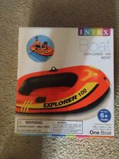 New Intex Boat Explorer 100 Boat Ages 6+