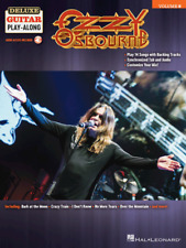 Ozzy Osbourne Deluxe Guitar Play-Along Volume 8 MUSIC BOOK/AUDIO ACCESS-NEW-SALE