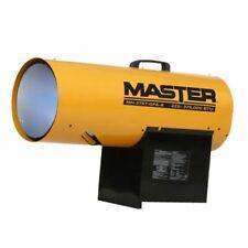 Master Mh-375T-Gfa-A 225/375,000 Btu Lp Forced Air Torpedo Heater w/Thermostat