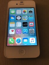 Apple iPhone 4s 16gb White Unlocked Siri Touchscreen Bluetooth A1387 Smartphone