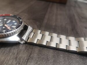 seiko 22mm oyster stainless steel watch strap bracelet For seiko king turtle