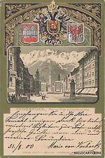 AUSTRIA - Innsbruck - Maria Theresienstrasse 1900