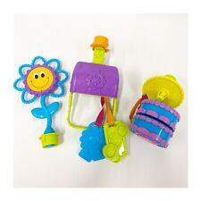 Lot Evenflo Sweet Tea Party Exersaucer Replacement Switch-a-Roo Toys Purse A7