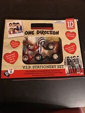 One Direction VIP Stationary Set Collectors Item