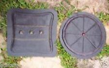 2 pillow plaque molds  plaster cement