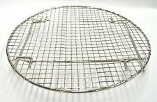 "Korean BBQ Round Stainless Steel Steak Fish Cooking Grill Grid Grate 10"""