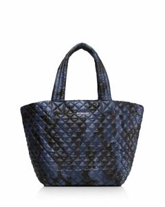 MZ Wallace TINY Metro Tote Dark Blue Camo NWT NOT RED!