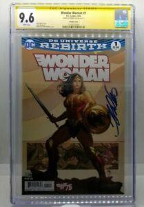 Wonder Woman 1 CGC 9.6 Signed by Frank Cho DC Comics 2016