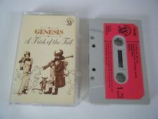 GENESIS A TRICK OF THE TAIL CASSETTE TAPE 1976 RED PAPER LABEL CHARISMA UK
