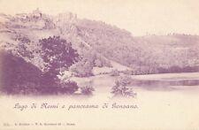 GENZANO – Lago di Nemi e Panorama di Genzano – Italy - udb (pre 1908)
